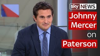 Johnny Mercer on Paterson - SKYNEWS