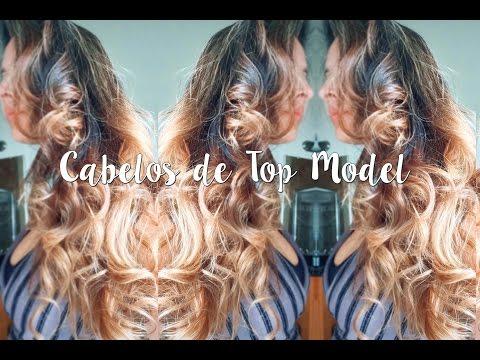 COMO CORTAR O CABELO EM CASA - CORTE EM CAMADAS - CABELOS DE TOP MODEL