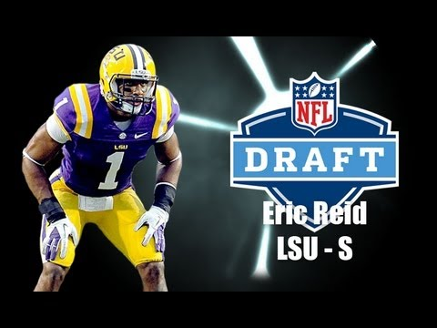 2013 NFL Draft Profile: Eric Reid - Louisiana State