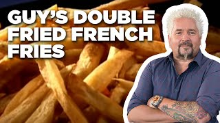 Guy's Double-Fried French Fries | Food Network - FOODNETWORKTV