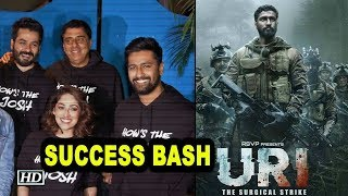 'Uri: The Surgical Strike' SUCCESS BASH with cast - IANSINDIA