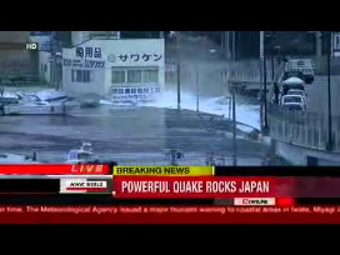 Japan 8.8 earthquake Tsunami- March 11th 2011 video,japan tidal wave,earthquake japan,