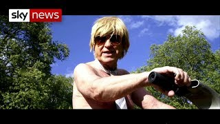 Why a conservative MP decided to cycle naked? - SKYNEWS
