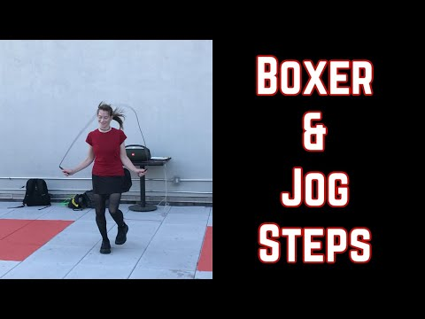 Rope Jumping Made Easy: the Boxer and Jog Steps