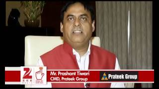 Prateek Group CMD, Mr Prashant Tiwari urges people to vote - ZEENEWS