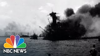 Listen To A Historic Broadcast From The Attack On Pearl Harbor | NBC News - NBCNEWS