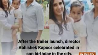 Sara Ali Khan lives her Princess moment with Sushant Singh Rajput at Kedarnath Trailer Launch - INDIATV