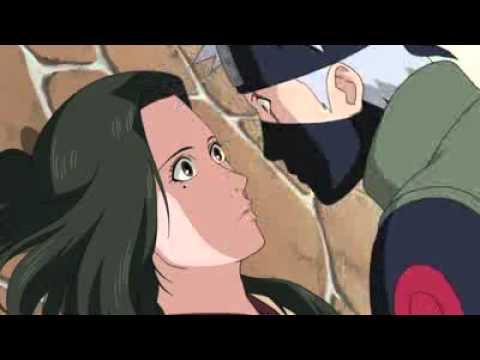 Shippuden moment -  Kakashi and Hanare Kiss scene  - Naruto Shippuden 191