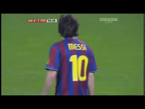 One of Messi's Greatest goals ever!!!