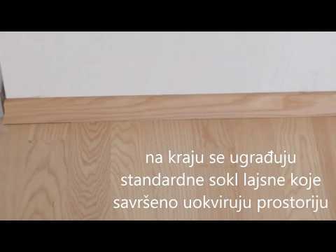 Postavljanje Gotovog Dvoslojnog Parketa od Jasena - DECKING parketar - Osijek Zagreb