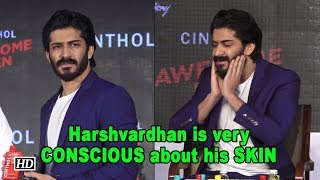 Harshvardhan Kapoor is very CONSCIOUS about his SKIN - IANSLIVE