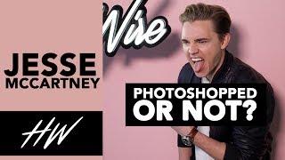 Photoshopped or not?! JESSE MCCARTNEY! - HOLLYWIRETV
