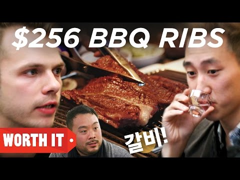 $13 BBQ Ribs Vs. $256 BBQ Ribs • Korea