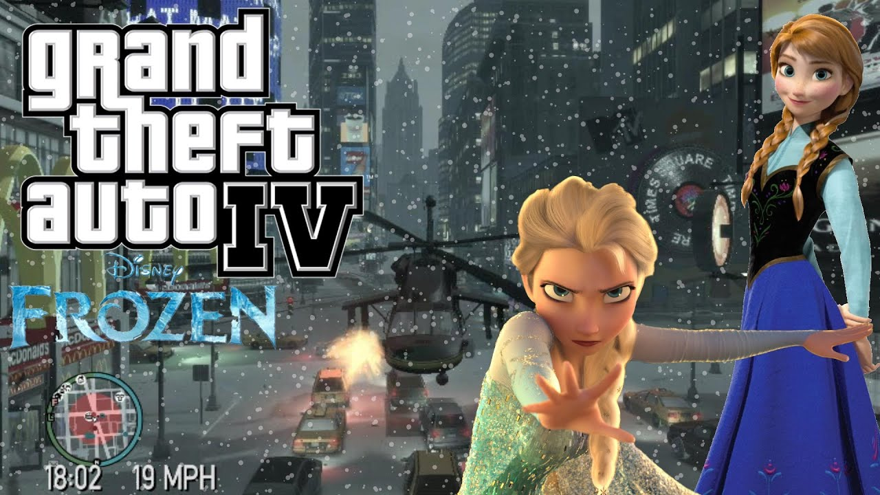 Frozen gta xxx nude movie
