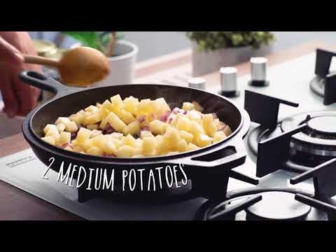 Carrot & Potato Egg Fry : MAGGI® Recipe