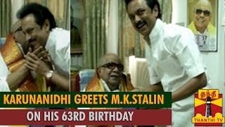 MK Stalin 63rd Birthday Celebration