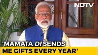 """""""Mamata Didi Still Sends Kurtas, Sweets Every Year"""": PM To Akshay Kumar - NDTV"""