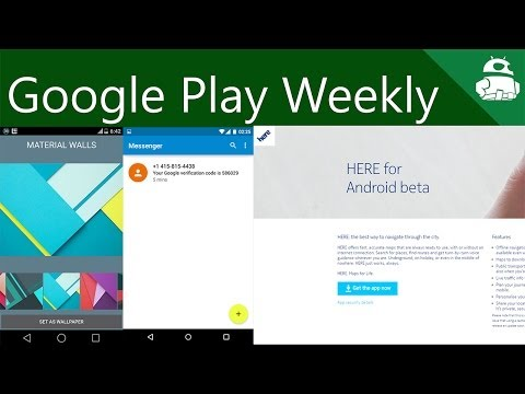 Google apps everywhere, Material Design everywhere, Nokia did stuff too! - Google Play Weekly