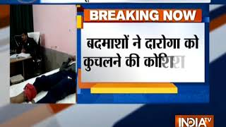Encounter between Uttar Pradesh Police and liquor smugglers in Shamli - INDIATV