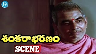 Sankarabharanam Movie Scenes - Shankara Sastry Gives Information About Music || J.V. Somayajulu - IDREAMMOVIES