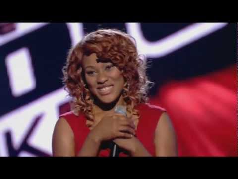 joelle moses (Adele's Rolling In The Deep) the voice uk season 1 episode 3