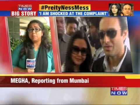 Mumbai police launch probe in Preity Zinta 'molestation' case
