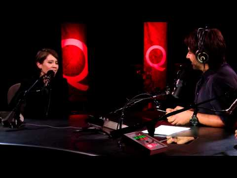Tegan and Sara Quin in Studio Q