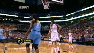 Brittney Griner Dunks Twice In WNBA Debut (Only 3rd Player To Dunk Ever)