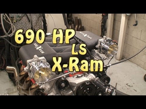 New X-Ram 690 HP Chevy LS 496 CI(8.1L) Beast.  Nelson racing Engines.  NRE TV Episode 209.  Camaro.