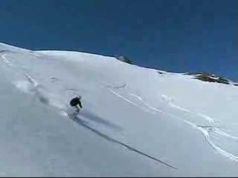 Avalanche - A warning to all Freeriders