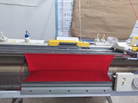 tejer a maquina leccion 2