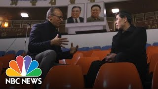 North Korean Olympic Official: Unified Team Will Work Fine Together | NBC News - NBCNEWS