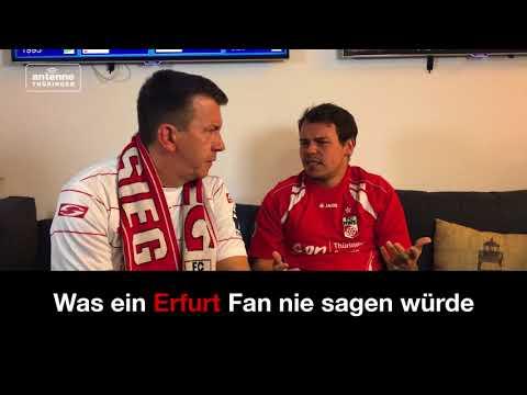 Was ein Erfurt / Jena-Fan nie sagen würde