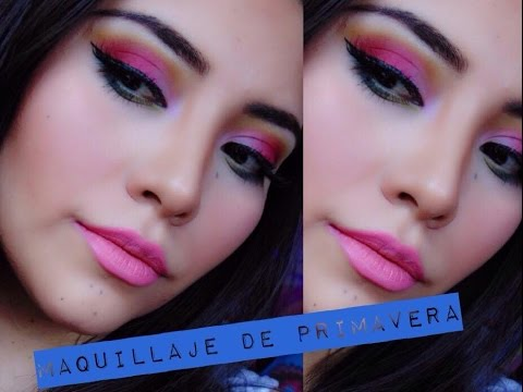 Maquillaje Colorido|Primavera 2015