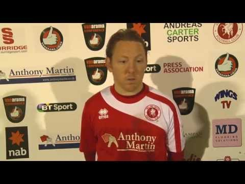 WingsTV Jamie Day Freeview after Welling United vs FC Halifax Town