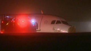 إصابة خمسة وعشرين راكبًا بجروح في حادث طائرة كندية