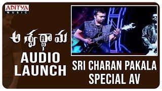 Sri Charan Pakala Special AV @ Aswathama Audio Launch Live | Naga Shaurya | Mehreen | - ADITYAMUSIC