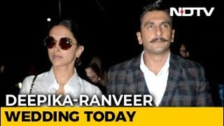 Deepika Padukone And Ranveer Singh's Wedding Day: The Venue And Other Details - NDTV