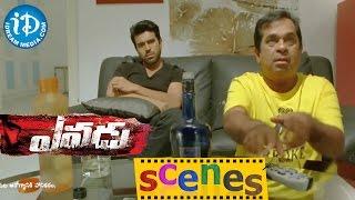 Yevadu Movie Scenes || Ram Charan, Brahmanandam Comedy Scene  || Shruti Haasan - IDREAMMOVIES