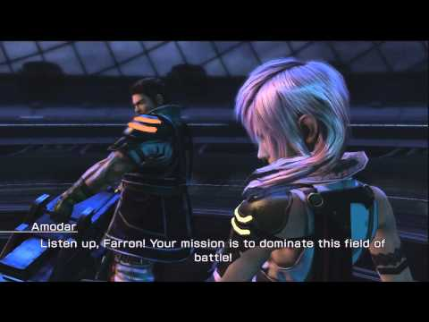 Final Fantasy XIII-2 - Lightning & Amodar DLC Battle (Coliseum Challenge: Operation XIII-2)