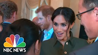 'The Upcoming Baby:' Expectant Father Prince Harry Gets Tongue-Tied In Australia | NBC News - NBCNEWS