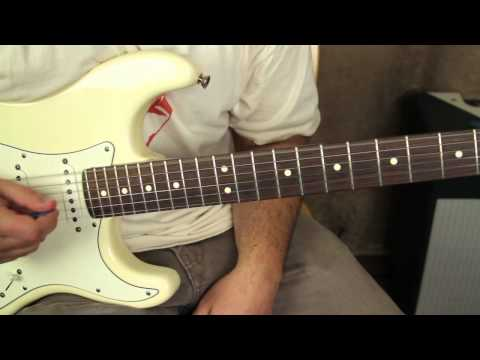 "How to Play ""Lenny"" by SRV - Stevie Ray Vaughan - Fender Stratocaster"