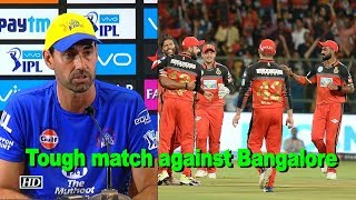 IPL 2018 | Match against Bangalore one of the tough IPL games, says Stephen Fleming - IANSINDIA