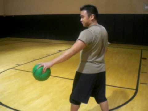 Dodgeball Training: The Spinning Backhand Throw