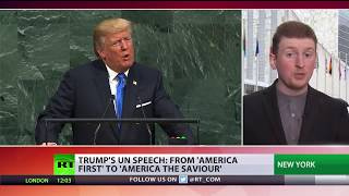 New presidents, old remarks: Trump's threats at UNGA echo those of his predecessors - RUSSIATODAY