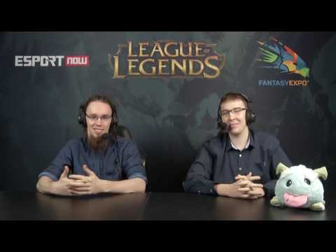 "Nervarien komentuje mecz w ""League of Legends"""