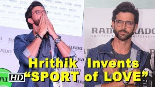 "Hrithik Roshan Invents ""SPORT of LOVE"" - IANSLIVE"