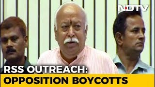 Mohan Bhagwat Opens RSS Outreach Event With Rare Praise For Congress - NDTV