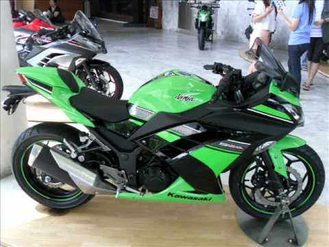 Ninja 250 Year 2013 in Thailand.wmv