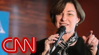 Amy Klobuchar ate salad with comb, told staffer to clean it, NYT reports - CNN